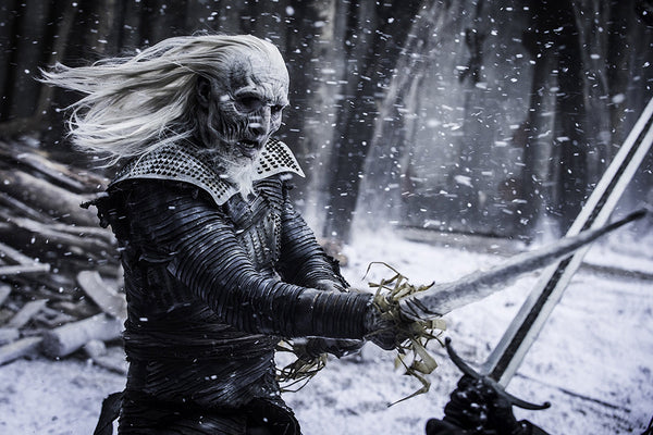 White Walker Game of Thrones Poster