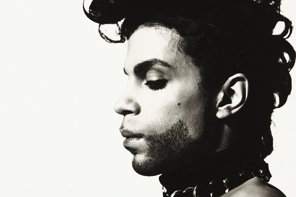 Prince Black and White Poster