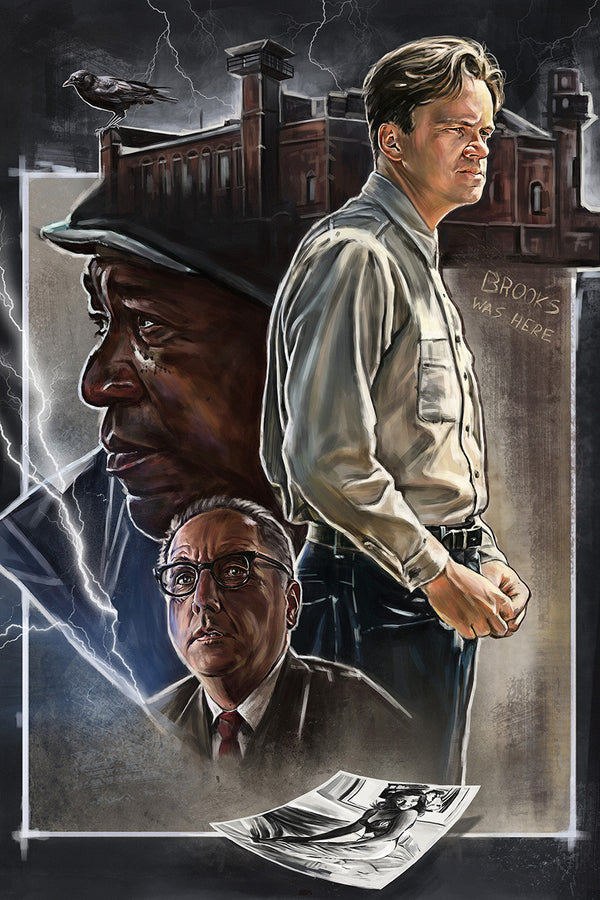 Shawshank Redemption Fan Art Poster