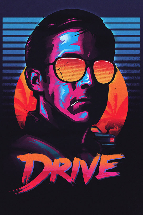 Drive Movie Fan Art Poster