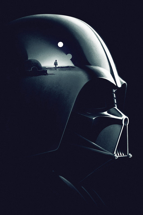 Darth Vader Star Wars Movie Fan Art Poster