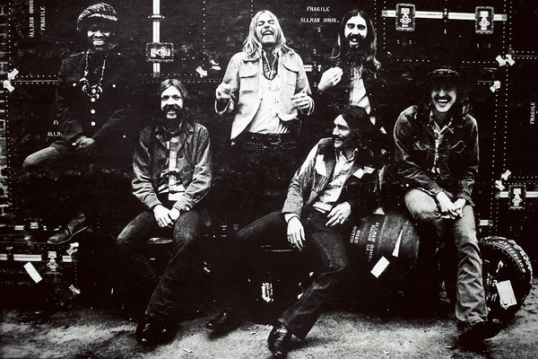 The Allman Brothers Band Classic Rock Poster