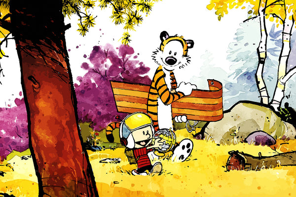 Calvin and Hobbes Comics Poster