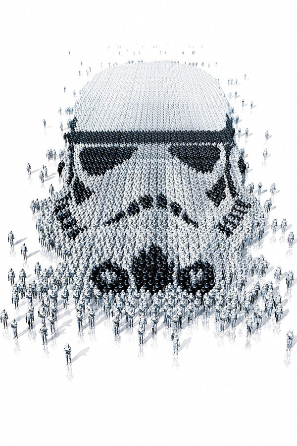 Imperial Stormtrooper Star Wars Fan ART Poster
