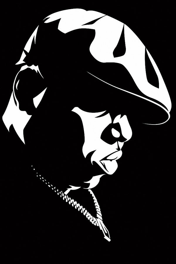 The Notorious B.I.G. Art Fan Poster