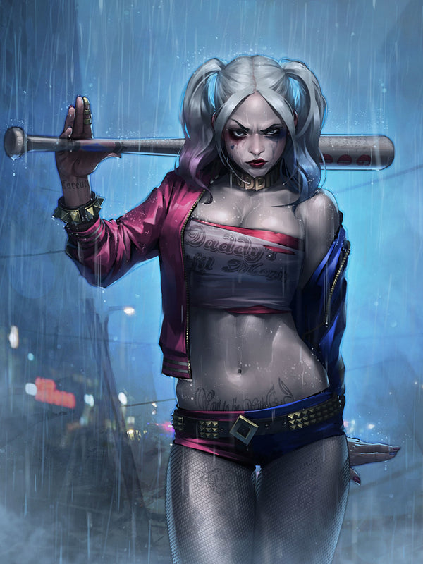 Harley Quinn Comics Artwork Fan Poster