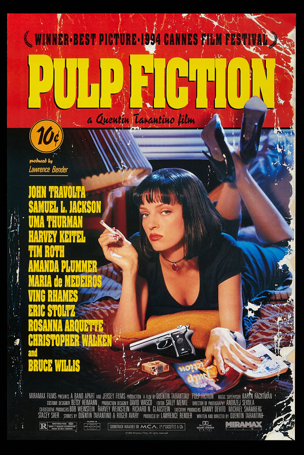 Pulp Fiction Print Poster