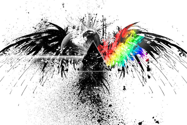 Pink Floyd The Dark Side of the Moon Art Print Poster