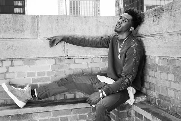 Desiigner - Panda HipHop Rapper Super Star Black and White Poster
