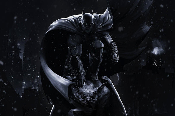 The Dark Knight Batman Beauty Art Poster