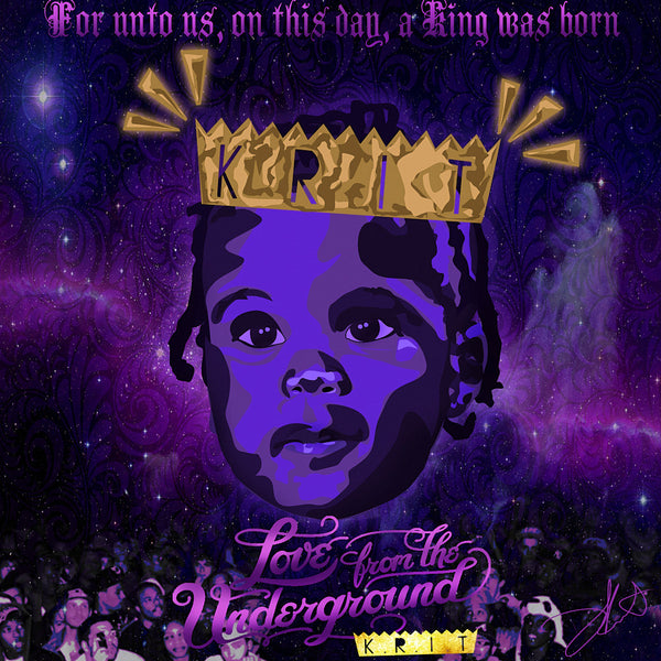 Big K.R.I.T KRIT Rapper Rap Music Hip-Hop Art POSTER