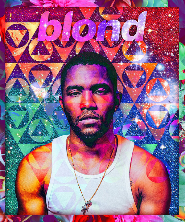 Frank Ocean Blond Music Star Poster 20x24 inch
