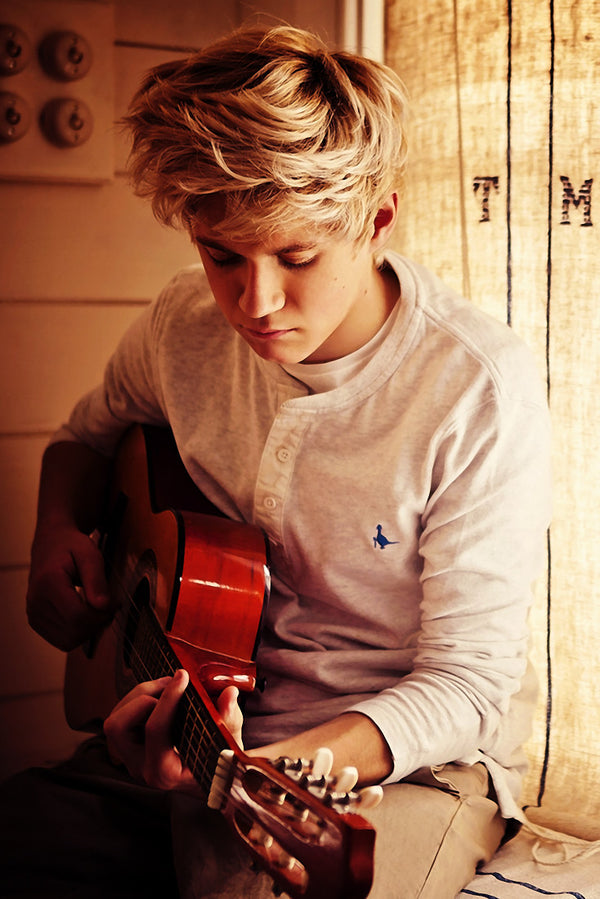 Niall Horan and Guitar Music Poster