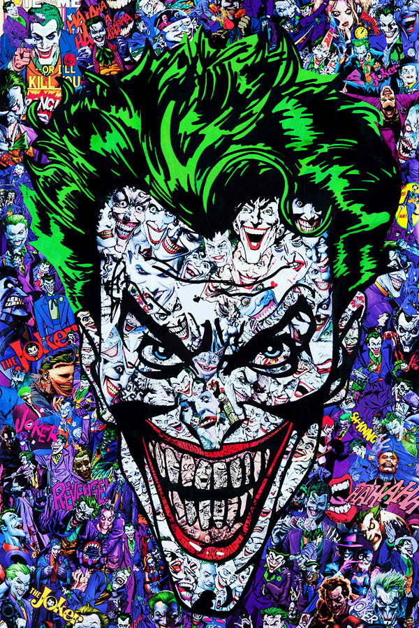 Joker Comics Fan Art Poster