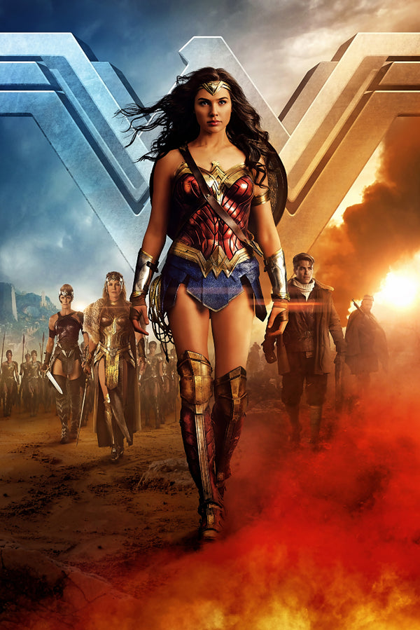 Wonder Woman Style Poster