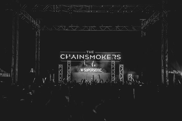 Logo The Chainsmokers Poster
