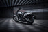 Black and White Harley Davidson Motorbike Poster