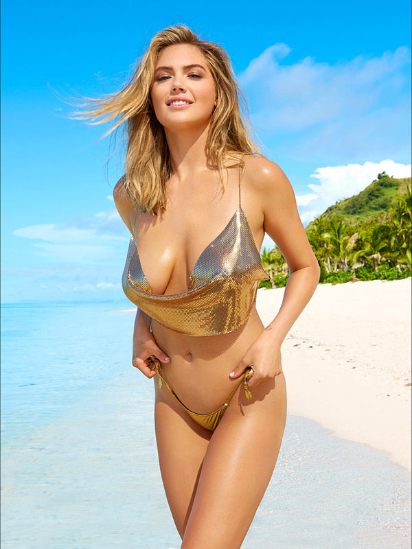 Smile Kate Upton Swimsuit Poster