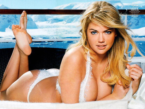 Snow Kate Upton Swimsuit Poster
