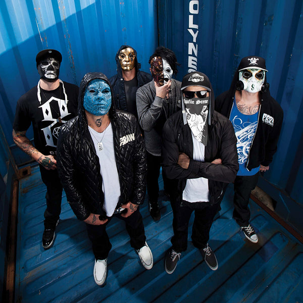 Group Hollywood Undead Poster