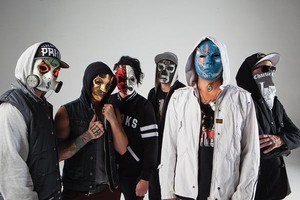 Group Mask Hollywood Undead Poster