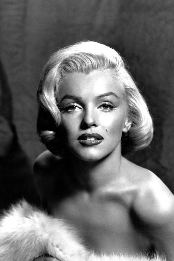 Marilyn Monroe Black And White Poster Uncle Poster