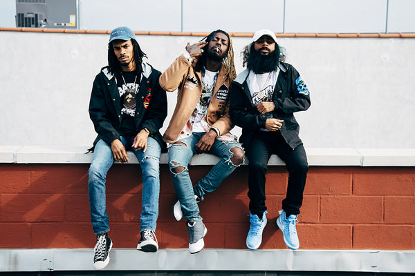 Rap Group Hip Hop Flatbush Zombies Poster