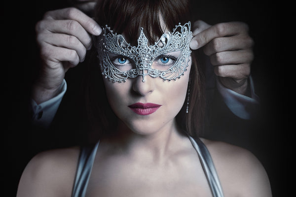 Dacota Johnson in Mask Fifty Shades Darker Poster