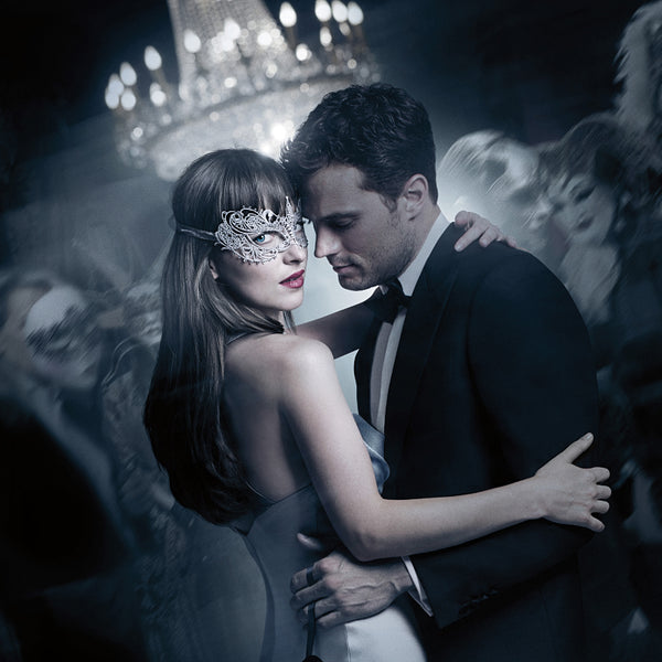 Dacota Johnson and Jamie Dornan Fifty Shades Darker Poster