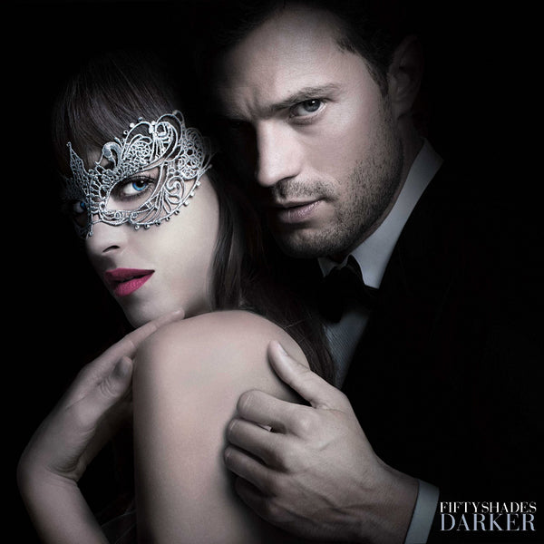 Dacota Johnson and Jamie Dornan Fifty Shades Darker Style Poster