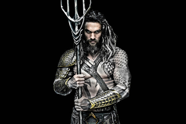 Aquaman Jason Momoa Justice League Poster