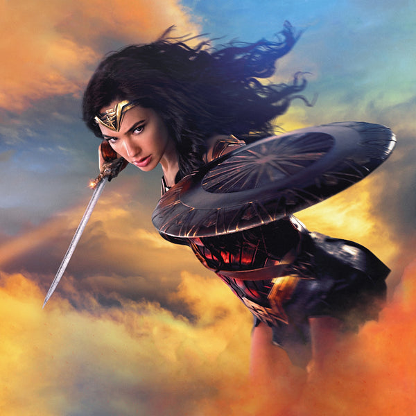 Super Wonder Woman Gal Gadot Poster
