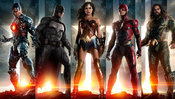 Justice League Super Heroes Poster