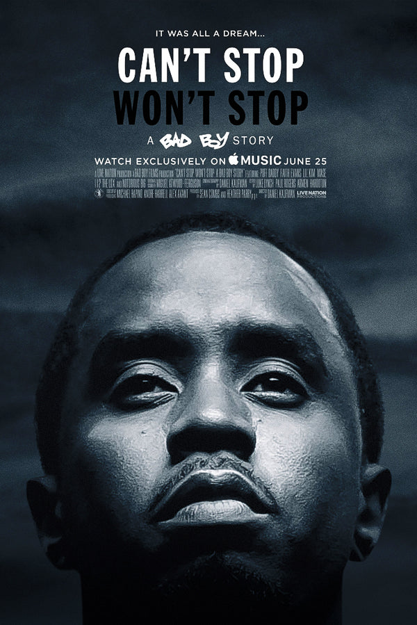 Can't Stop Won't Stop Diddy Mr. Sean Combs Poster