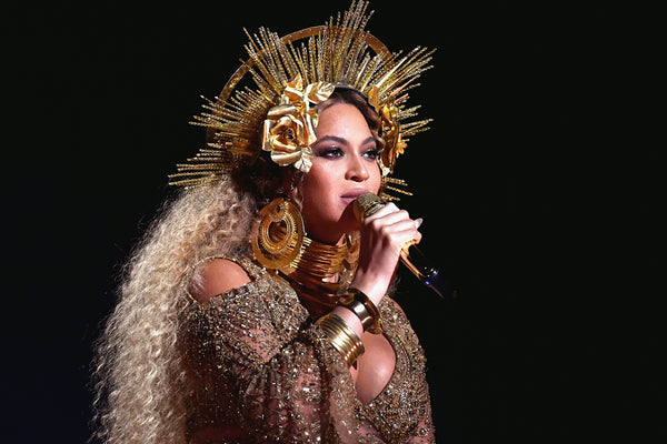 Beyonce Beauty Gold Poster