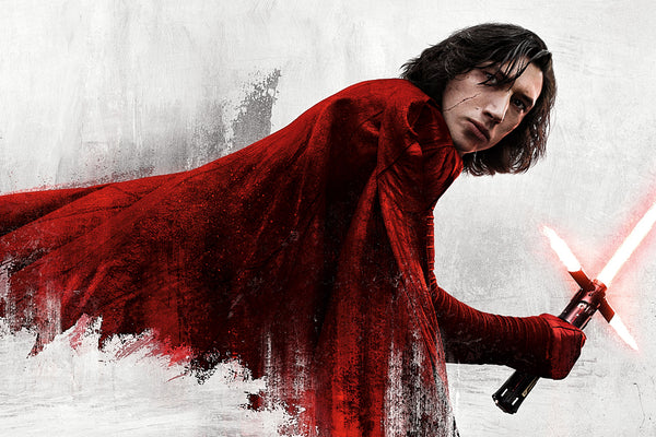Star Wars The Last Jedi Kylo Ren Poster
