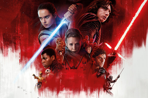 Star Wars The Last Jedi Big Poster