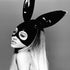 Ariana Grande Dangerous Woman Black and White Poster