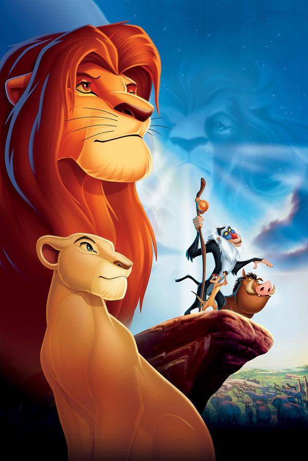 Simba The Lion King posters Poster