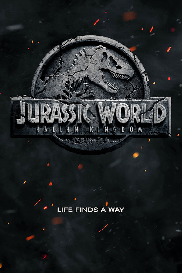 Jurassic World Life Finds a Way Poster
