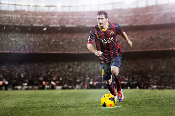 Lionel Messi Barcelona Poster