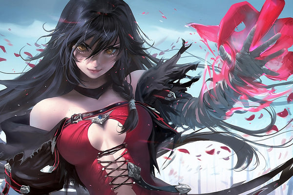 Velvet Crowe Hot Anime Girl Poster