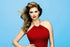 Kate Upton in Red Dress Poster