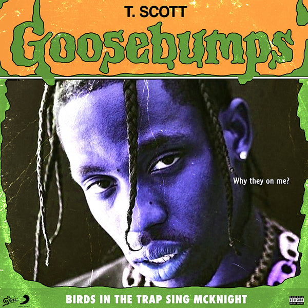 Travis Scott Goosebumps Poster