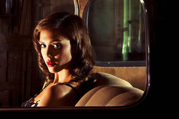 Jessica Alba in the Car Poster