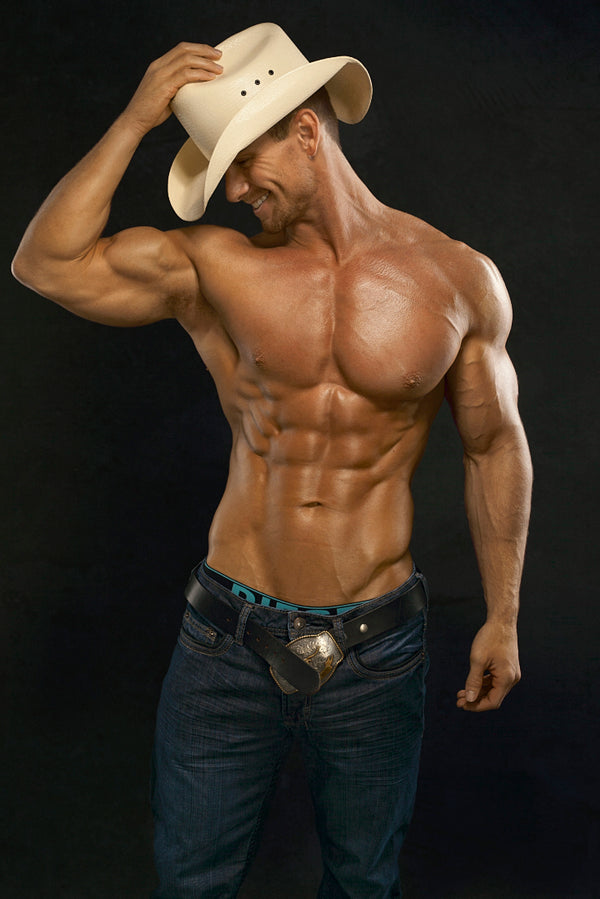Cowboy Perfect Body Poster