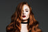 Sophie Turner Red Hair Poster