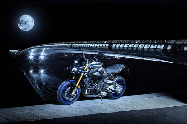 Yamaha MT 10 Car Poster
