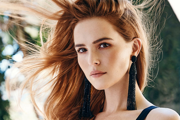 Zoey Deutch Face Poster