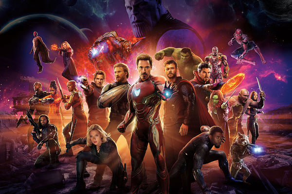 Avengers Infinity War International Poster